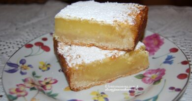 Lemon Bars For My Son's Birthday