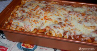 Baked Beef Macaroni