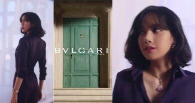 BLACKPINK LISA In Bvlgari Divas' Dream Campaign